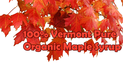 Pure Vermont Organic Maple Syrup